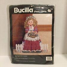 Bucilla Old Fashioned Miss Doorstop Plastic Canvas Kit 1990 Unopen Sealed 6043