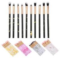 Set 10 Pennelli per Make Up Professionale Ombretto Cosmetica Kit Brush