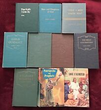 Lot of 10 Ellen G White Hardbound Vintage Adventist Christian Books SDA EGW
