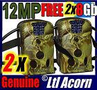 2 X Ltl Acorn 12MP Camera Trail Hunting Game FREE 8GB SD Farm Security IR 940NM