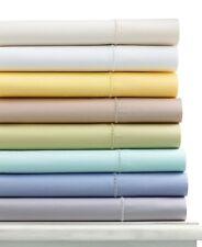 NEW Martha Stewart 300 TC Cotton Sateen FULL Flat Sheet YELLOW Bedding H1216