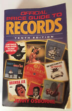 Official Price Guide to RECORDS 10th edition 1993
