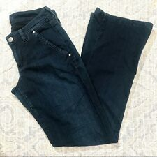 7 for All Mankind Kaylie Sexy Slim Bootcut Featherweight Jeans in New York Dark