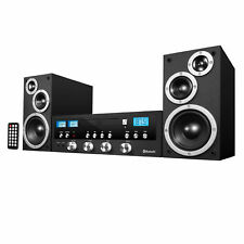 New listing Innovative Technology 50w Classic Cd Stereo with Bluetooth