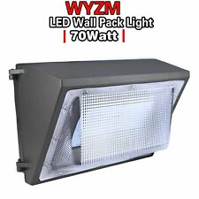 Outdoor Led Wall Pack Security Light Fixtures 70W Commercial Area lighting 5500K