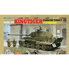 Dragon #6302 1/35 KingTiger Porsche Turret w/Zimmerit