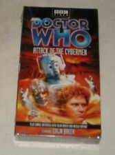 FACTORY SEALED VHS TAPE in SLEEVE BBC VIDEO DOCTOR WHO - ATTACK of the CYBERMEN