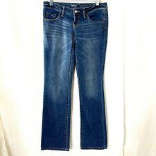 Mossimo Denim Low Rise Bootcut Medium Wash Blue Jeans 2R R