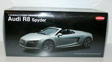 Kyosho 1/18 - 09217s Audi R8 Spyder (silver)