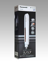 Panasonic hair iron straight for overseas available Nanocare white EH-HS99 F/S