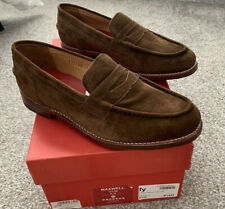 Grenson Maxwell Espresso Brown Loafer Shoe Size 8