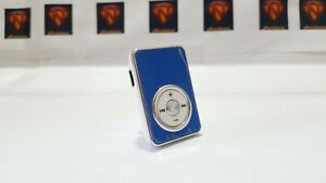 Hot sale New MP3 metal player chrome dial in Blue bundle - Perfect Gift