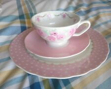 Portmeirion Studio 3 piece set, Cup & Saucer and Plate, New Unused