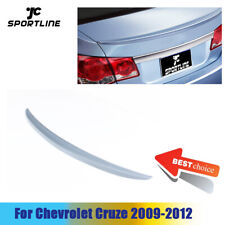 Rear Trunk Spoiler Boot Wing Lip Fit For Chevrolet Chevy Cruze 09 12 Unpainted Fits Cruze