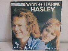 YANN et KARINE HASLEY Sur notre 7 1/2 PMS 105 Photo moto Honda derriere