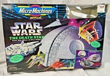 STAR WARS Micro Machines Space THE DEATH STAR A New Hope 1994 GALOOB Complete