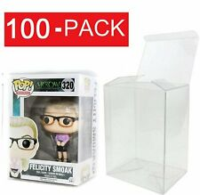 100-Pack Collectibles Funko Pop Protector Case for 4