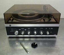 Vintage HiFi Turntable - DUAL 1214 HS 38 Wechsler Plattenspieler m. Verstärker