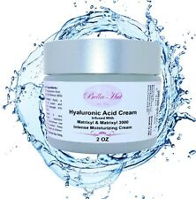 2 OZ. MOISTURIZER FACE CREAM W/ HYALURONIC ACID+MATRIXYL 3000~DRY SKIN TREATMENT