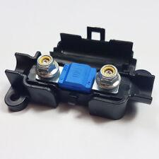 5 x 100 Amp Midi FUSIBILE Blu + MIDI/striscia di collegamento scatola portafusibili AUTO 100 A