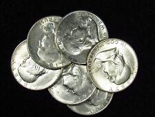 1949-S Franklin Half Dollar NICE AU 90% SILVER (1 COIN)
