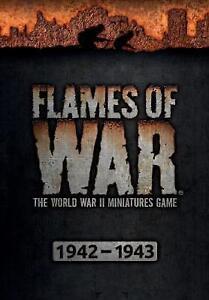 FLAMES OF WAR - hardback rules book - mid war period