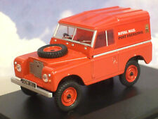 Oxford 1/43 Land Rover serie 2a IIA S2 SWB techo Rígido Royal Mail Gales