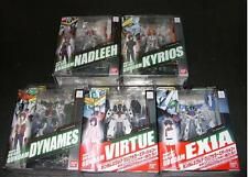 MSIA Gundam 00 EXIA Dynames Virtue Kyrios & Nadleeh lot of 5