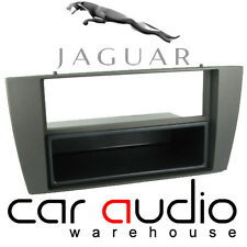 Connects2 Jaguar X Type 2002> Car Stereo Single Din Fascia Panel Black
