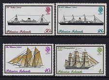1975 PITCAIRN ISLANDS MAILBOATS SET OF 4 FINE MINT MUH/MNH