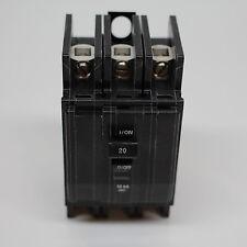 3 Phase Panel Mount Breaker - 20 AMP - BK SQD 320P