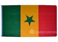 SENEGAL FLAG LARGE 5 x 3 FT - SENEGALESE AFRICAN NATIONAL COUNTRY