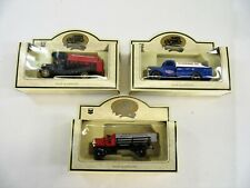 Lot of 3 Days Gone Standard Oil Cars / Trucks Diecast Metal by Lledo England Nib