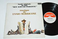 ENNIO MORRICONE Mon Nom Est Personne LP My Name is Nobody Soundtrack 1973 G+/VG