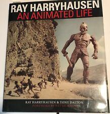AN ANIMATED LIFE 1st Edition SIGNED by Ray Harryhausen & Ray Bradbury FINE/FINE