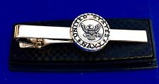 US Navy Tie Bar U.S. Navy Tie Clasp United States Navy Tie Clip