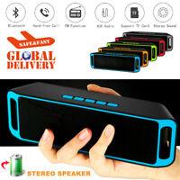 Portable Bluetooth speaker wireless outdoor stereo waterproof USB / TF / aux FM