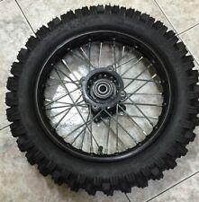RUOTA CERCHIO COMPLETO Posteriore SDG 15mm Cross 80/100-12 Per Pit Bike