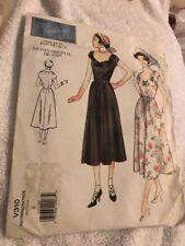 Vogue Vintage Retro Dress Sewing Pattern Size 8 Original 1949 Design V310 Uncut