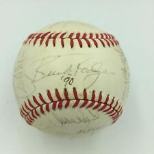 1990 Montreal Expos Team Signed National League Baseball With PSA DNA COA