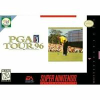 PGA Tour 96 - Nintendo SNES Game Authentic