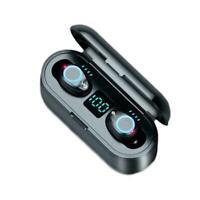 TWS Bluetooth 5.0 Wireless in-ear Earphones Earbud Headset NEW Stereo 8D Q0E4