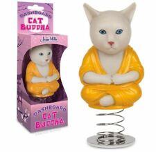 New Archie McPhee Zen Kitten Dashboard Buddha Cat Bobber Accessory
