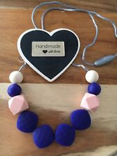 Silicone Necklace for Mum Jewellery Beads Aus Gift Sensory (was Teething) Modern