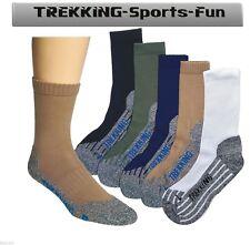COOLMAX Trekking Socken Wandersocken Freizeit Sport Hobby mit Spezialpolsterung