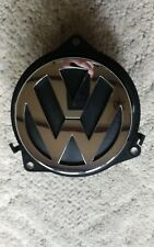 VW 2009 CC Trunk Boot Latch Hinged Release Switch Emblem 3C5827469F Used Oem