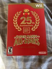 Super Mario All-Stars -- Limited Edition Nintendo Wii, 2010 SEALED NEW