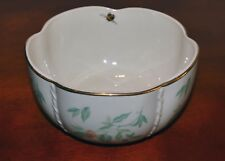 Lenox Morningside Cottage Treat Bowl, Various Florals, Bee, Butterfly, Gold Trim