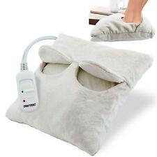 Ante de lana comodidad eléctrico climatizada CÓMODO RELAJANTE MASAJEADOR Calentador de pies