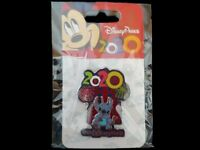 Disney Pin DS - WDW - Dated 2020 Hollywood Tower Hotel - Stitch with Mickey Bars